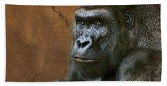 Silverback Stare - Gorilla Hand Towel