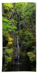 Silverthread Falls Hand Towel by Raymond Salani III