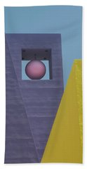 Similar Shapes Different Colors Hand Towel by Gary Slawsky