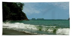 Simple Costa Rica Beach Hand Towel