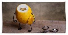 Simple Things 11 Hand Towel by Nailia Schwarz