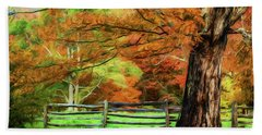 Simply Autumn Hand Towel by Darren Fisher