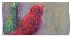 Sing Little Bird Hand Towel