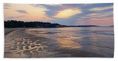 Singing Beach Sandy Beach Manchester By The Sea Ma Sunrise Hand Towel