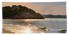 Singing Beach Silver Waves Manchester By The Sea Ma Hand Towel