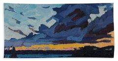 Singleton Sunset Stratocumulus Hand Towel