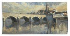 Sint Servaas Bridge Maastricht Hand Towel