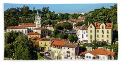 Sintra - The Most Romantic Village Of Portugal Hand Towel