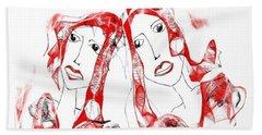 Sisters Hand Towel