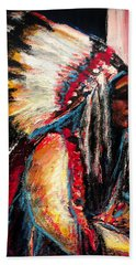 Sitting Bull Hand Towel