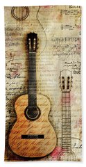 Six String Sages Hand Towel