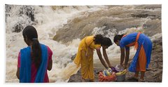 Skc 2621 A Collective Task Hand Towel by Sunil Kapadia