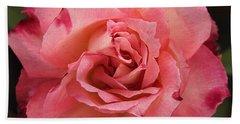 Skc 4942 The Pink Harmony Hand Towel by Sunil Kapadia