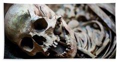 Skeleton Skull  Hand Towel
