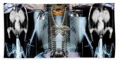 Skeletonism Bath Towel