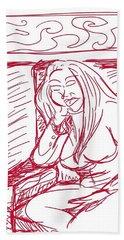Sketch A2 Hand Towel