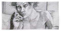 Sketch For Connie Bath Towel