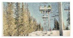 Ski Colorado Bath Towel