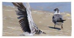 Skiddish Black Tern Hand Towel