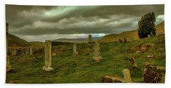 Skies And Headstones #g9 Bath Towel