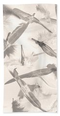Skies Of A Feather Bath Towel
