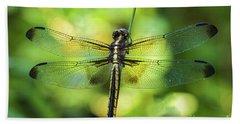 Skimmer Dragonfly Bath Towel