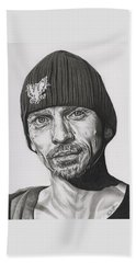 Skinny Pete  Breaking Bad Hand Towel by Fred Larucci