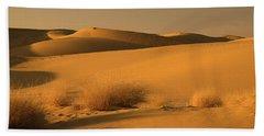Skn 1124 The Desert Landscape Hand Towel by Sunil Kapadia
