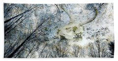 Bath Towel featuring the photograph Skully Dreams Of Beach And Trees by Ronda Broatch