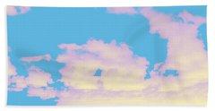 Sky #6 Bath Towel