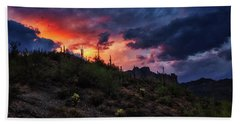 Hand Towel featuring the photograph Sky Candy by Rick Furmanek