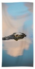Sky Gator Bath Towel