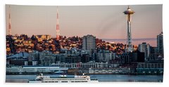 Space Needle.seattle,washington Bath Towel