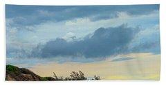 Sky Over Maceneta Beach Mozambique Hand Towel