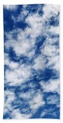 Sky Paint Bath Towel