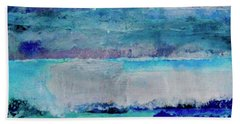 Sky Striations Hand Towel