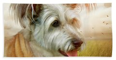 Skye Terrier Bath Towel