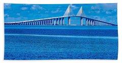 Skyway Bridge Hand Towel