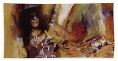 Slash Guitarist 1 Hand Towel