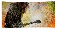 Slash - Guitarist Bath Towel