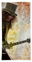 Slash - Guitarist Bath Towel