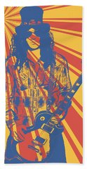 Slash Pop Art Poster Hand Towel