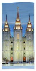Slc Temple Blue Hand Towel