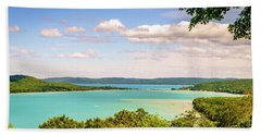Hand Towel featuring the photograph Sleeping Bear Dunes National Lakeshore by Alexey Stiop