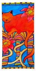 Sleeping Beauty By Dora Hathazi Mendes Bath Towel