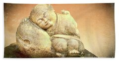 Sleeping Buddha Bath Towel
