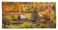 Sleepy Hollow - Pomfret Vermont In Autumn Hand Towel