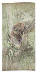 Sleepy Koala Hand Towel