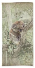Sleepy Koala Bath Towel