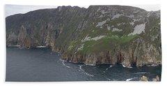 Slieve League Cliffs Bath Towel